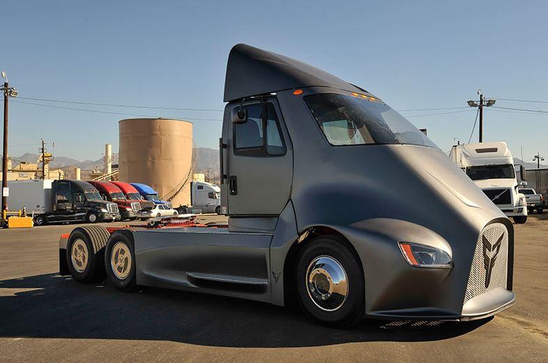 future electric truck