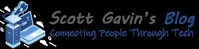 Scott Gavin's Blog